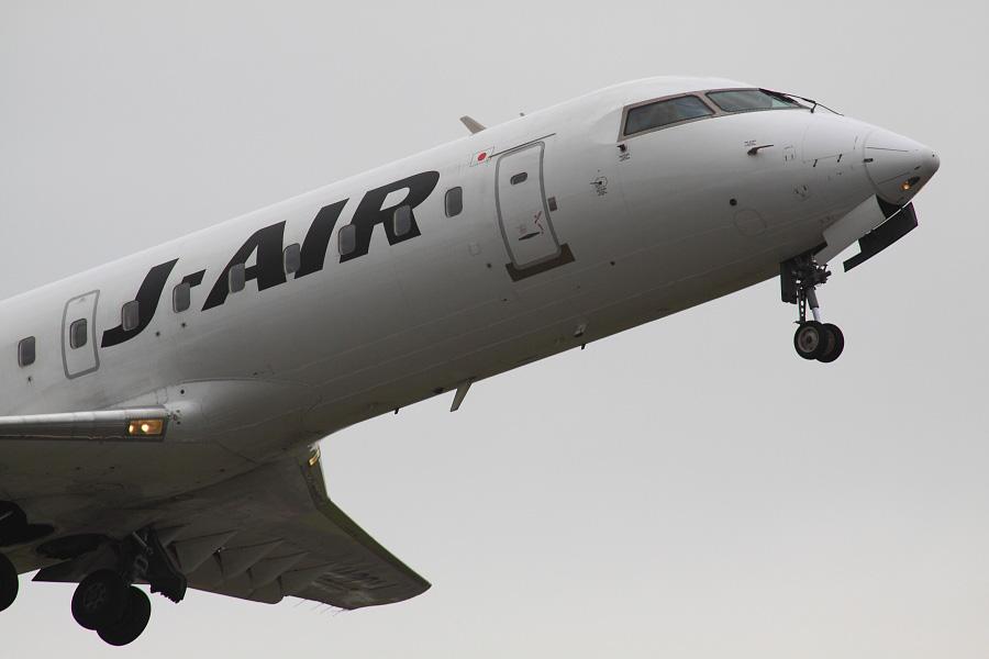 J-AIR CRJ-200ER / JAL2243 (JA201J)@下河原緑地展望デッキ