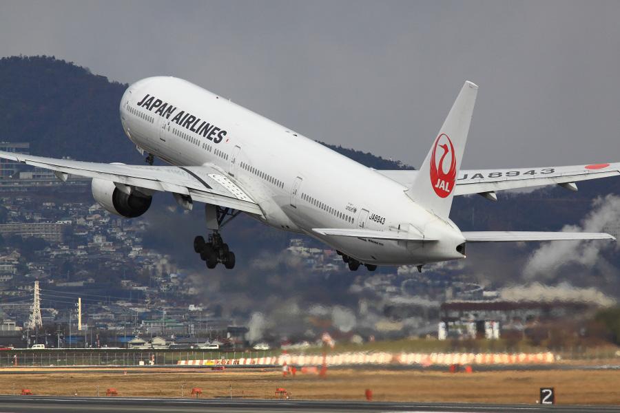 JAL B777-346 / JAL2081 (JA8943)@伊丹スカイパーク