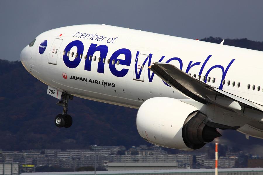 JAL B777-346 / JAL112 (JA752J)@伊丹スカイパーク