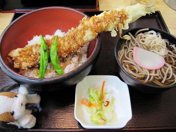 穴子丼セット