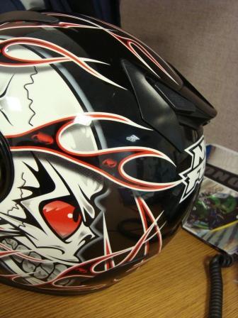 my helmet fixed