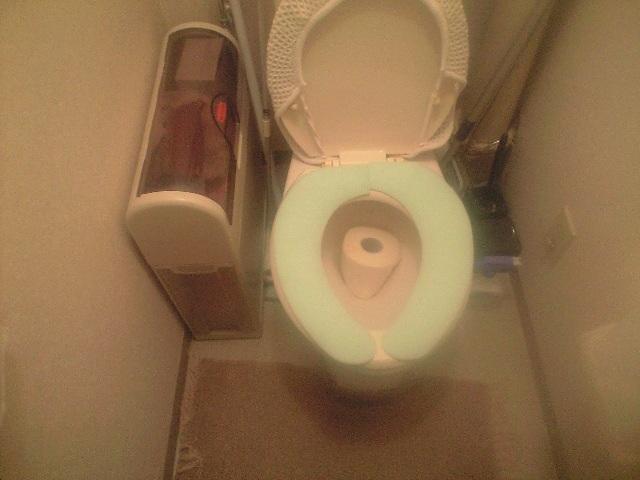 トイレにて