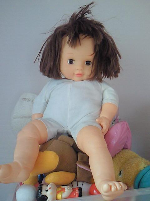 人形の頂点