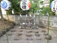石尊祭りの場