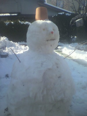 ⑥2013.01.23 雪だるま