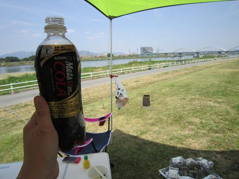 枚方大橋に乾杯!