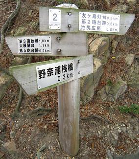 丁寧な標識