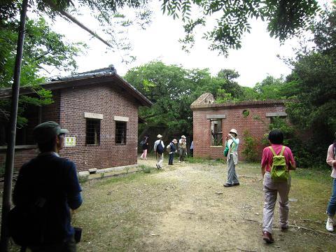 発電所と宿舎跡