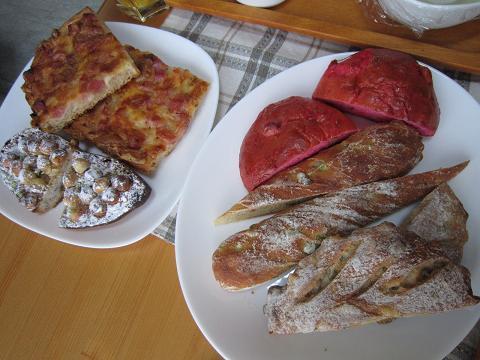 サンクのパン5種