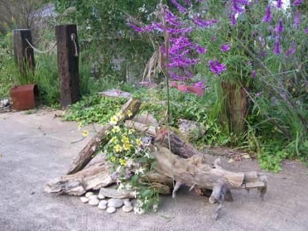 野菊 流木