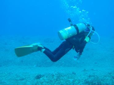 ダイビング in Guam