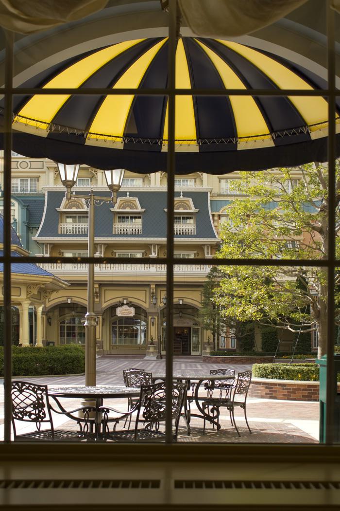 シャーウッドガーデン・レストランのカフェ