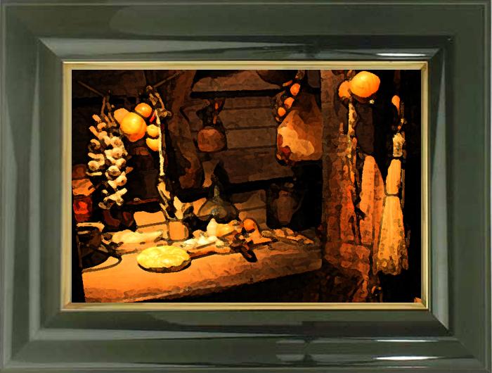 船倉の台所