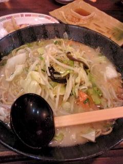 勝水野菜ラーメン