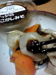 ジッジと芋煮100829
