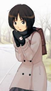 冬服の美也