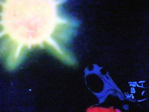 バラン星の人口太陽とヤマト