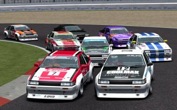 AE86 CLUB Hot-Virsion Cup Skins