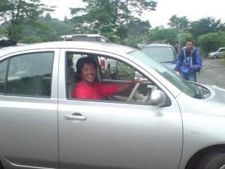 20100629 代車で野尻湖
