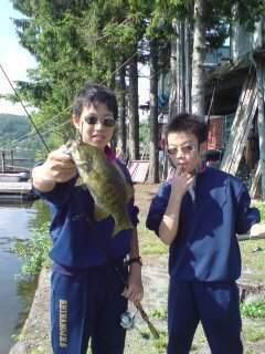 20100701 野尻湖で授業