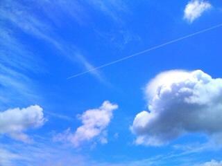 飛行機雲②