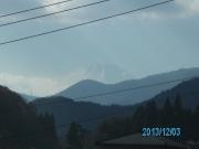 道志みちからの富士山