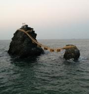 二見浦の夫婦岩