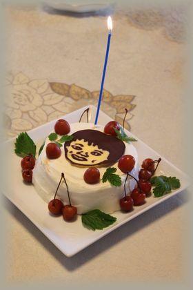 yuuくんケーキ