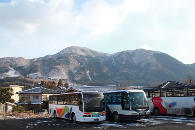 観光バスもいっぱいだね