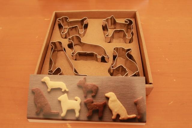 犬クッキー型