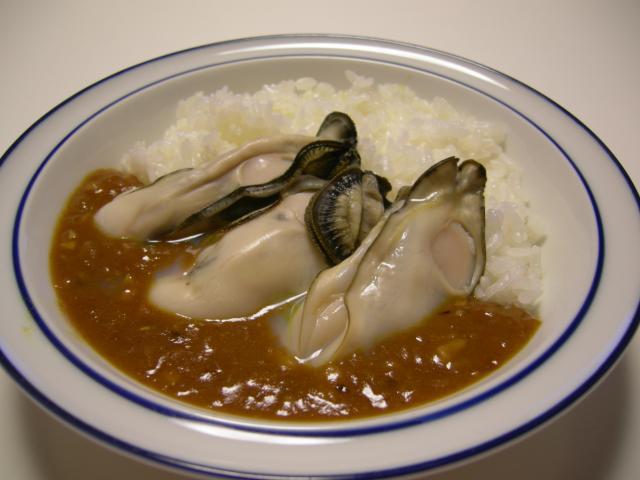殻付き牡蠣deスパイシー☆カレー①