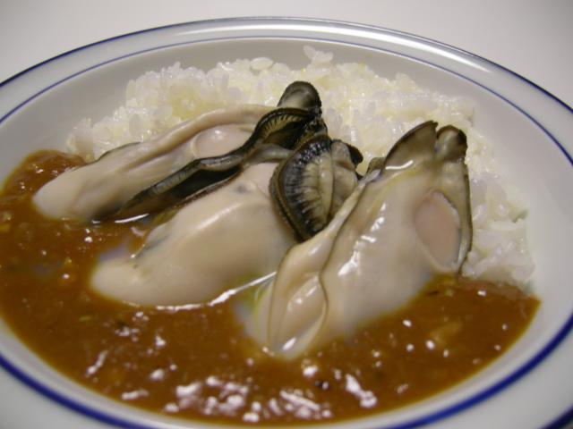 殻付き牡蠣deスパイシー☆カレー②