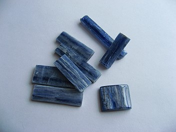 Kyanite rough cuts