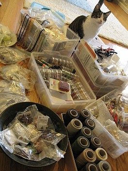 beads organization - before