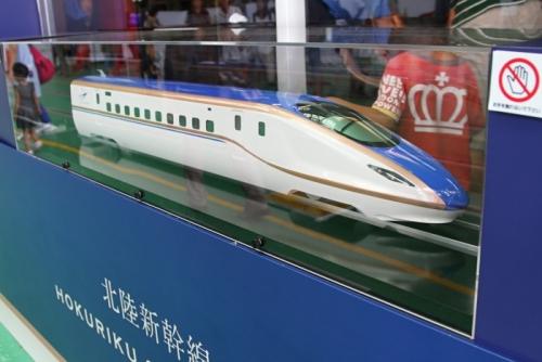 北陸新幹線 模型