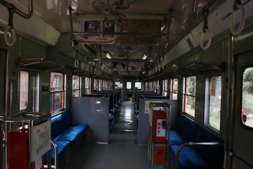 いすみ鉄道 キハ52 車内全体