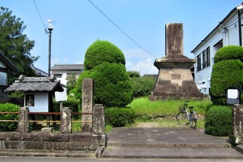 小林寿太郎」の碑