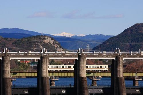 2011年12月23日 太多線 木曽川橋梁