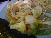 金田亭 野菜ラーメン 野菜