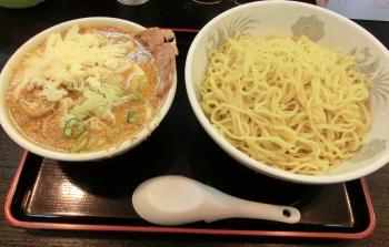 味噌つけ麺+チーズ