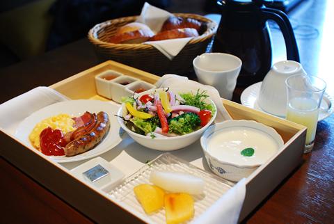 星のや軽井沢 洋朝食