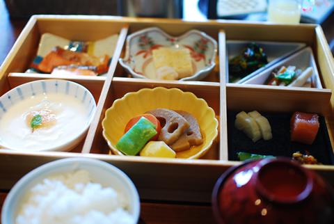 星のや軽井沢 和朝食