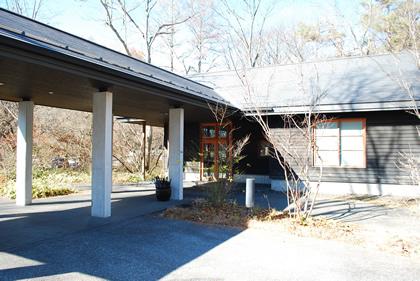星のや軽井沢 レセプションハウス