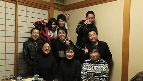 0572家族の新年会