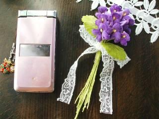 菫のミニブーケ