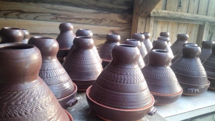 琴鳴窯オリジナルタジン鍋