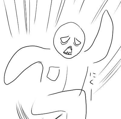 走るゾンビ
