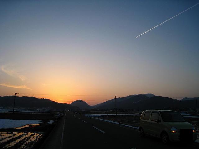 ♪夕焼け小焼けで日が暮れて~♪
