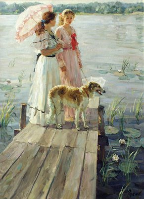 vladimirgusev-On the small bridge _2003