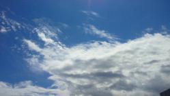 9月の空3